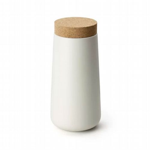 Storage Jar - Tall - White